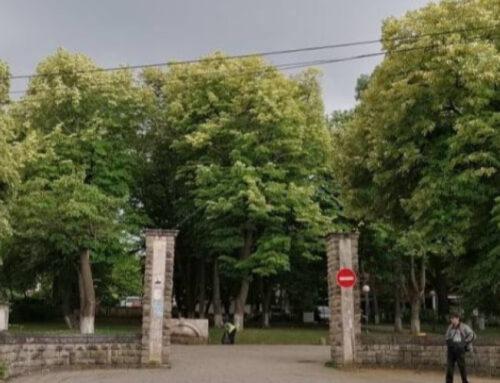"""Реновират емблематичния за Горна Оряховица парк """"Градска градина"""""""