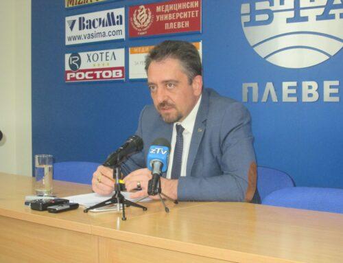Председателят на Общинския съвет в Плевен даде пресконференция