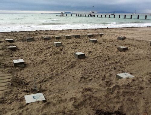 Общински съветници  с питане за бетонни елементи на плажа в Бургас